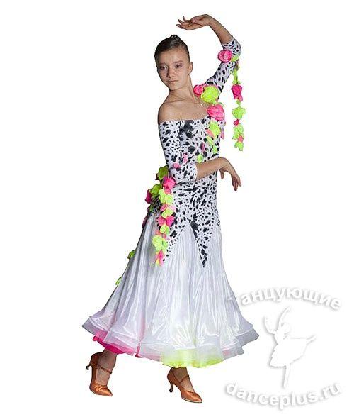 Спортивно бальные платья доставка