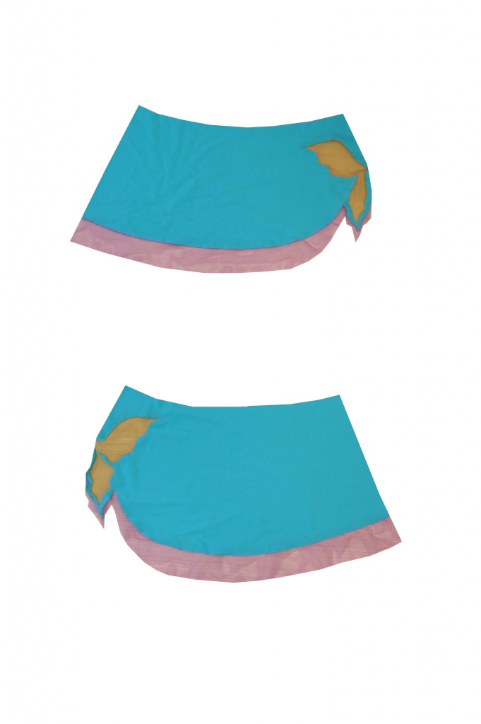 Как сшить гимнастический купальник с юбкой